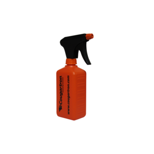 Cougartron sprayflaska med spruta (tom) – 500 ml