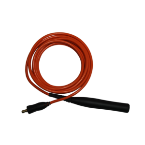 Orange kabel med handtag för InoxFURY betningsmaskin – 6m