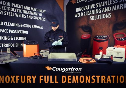 Cougartron InoxFury - Full demo video of the most powerful electrolytic weld cleaner!