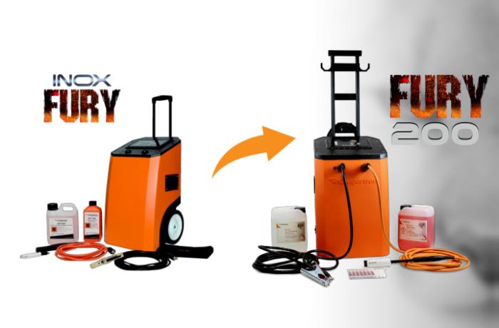 Den nya och uppgraderade modellen av vår InoxFURY betningsmaskin finns nu tillgänglig