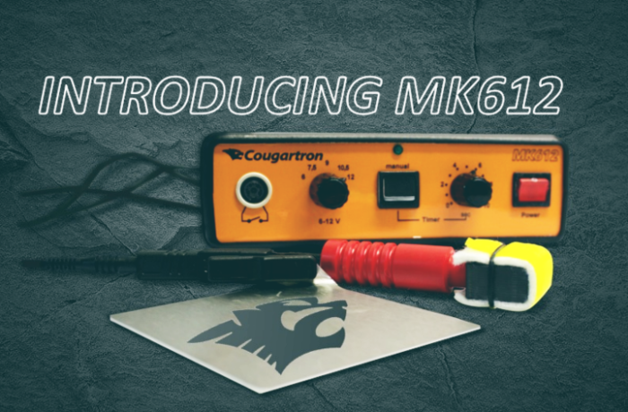 Introducing MK612 – New marking machine for larger metal surfaces