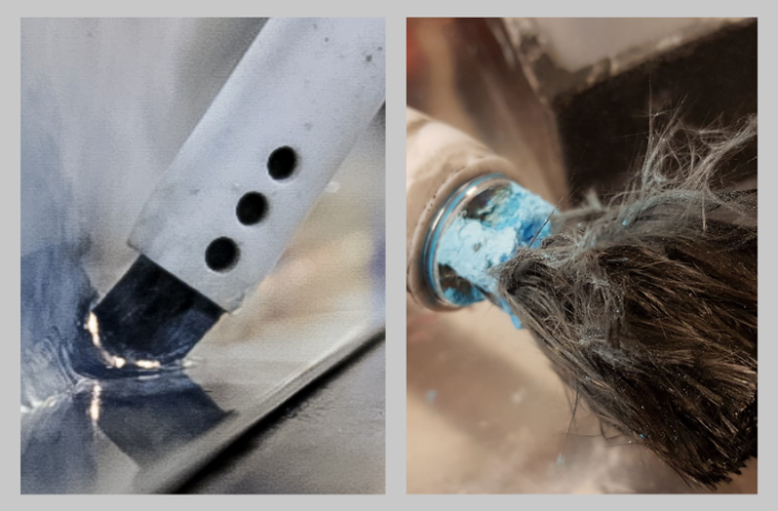 How to clean and maintain your weld cleaning brush?