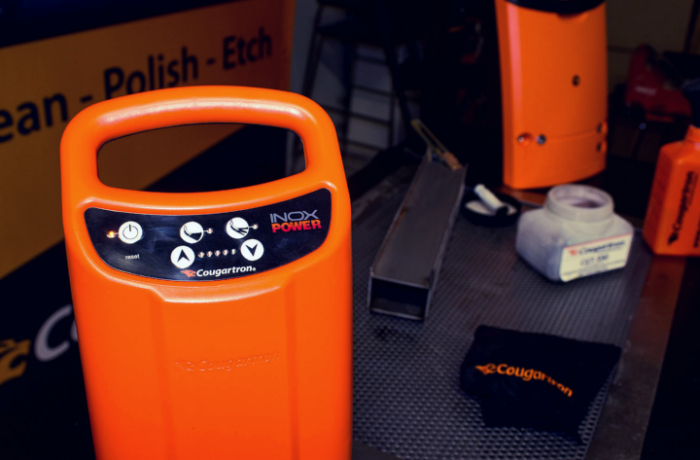 Weld cleaning and marking with InoxPower – Full Demo
