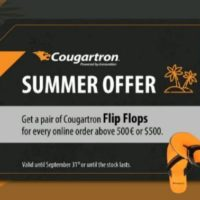 Late summer offer! Order anything from Cougartron.com above 500€ or $ 500 and we will send you our new Cougartron