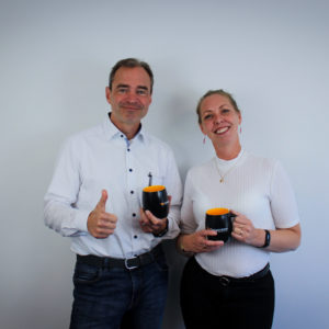 We are happy to welcome Christoph and Pia-Maria to the Cougartron family