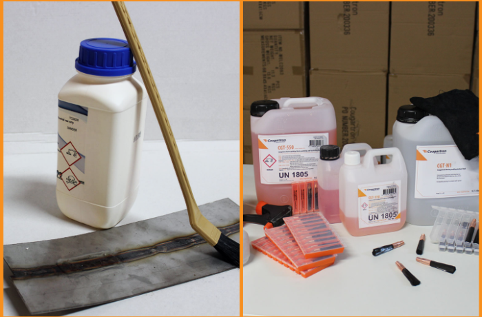 Electrolytic Weld Cleaning Fluids vs Pickling Paste – What is the difference?