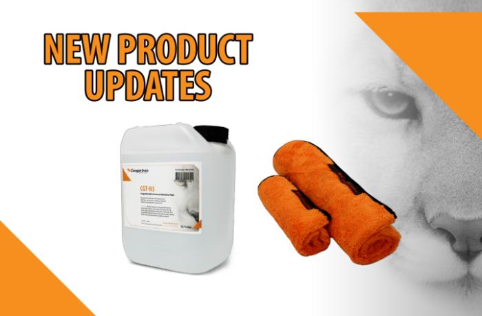 New Cougartron product updates – fluids & fluid accessories
